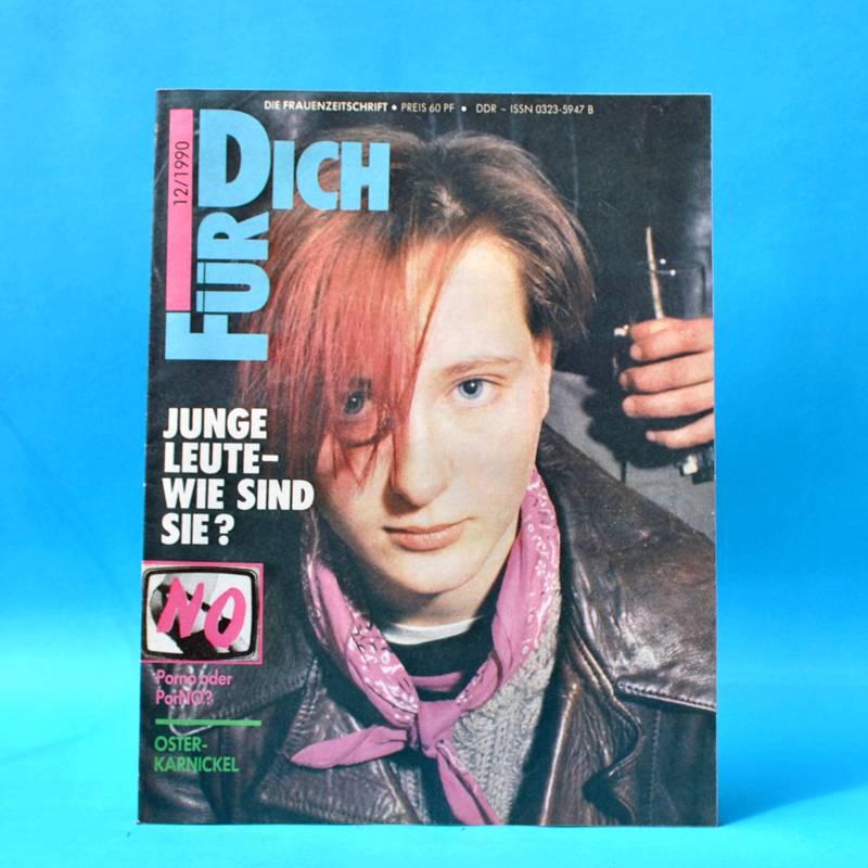 DDR FÜR DICH 12/1990 Miß Berlin 1990 40. Berlinale Ingrid