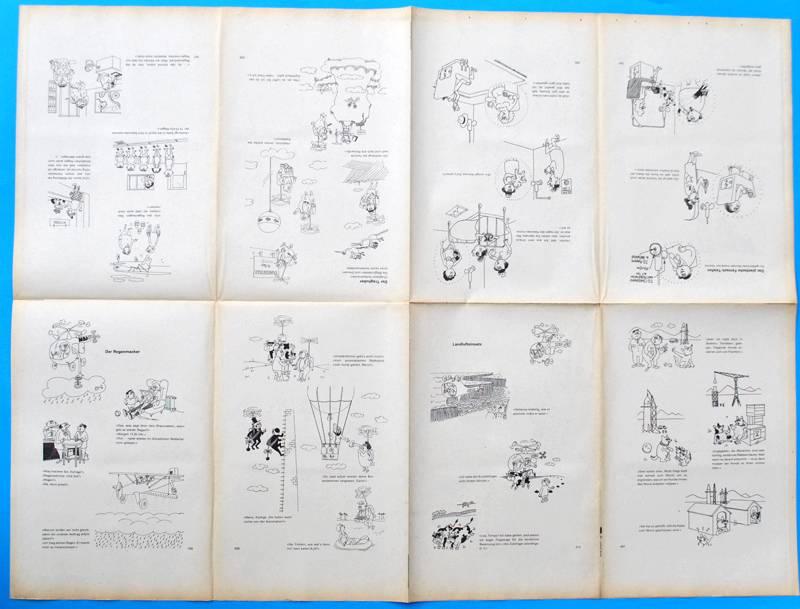 original ddr comic druckbogen erich schmitt das dicke. Black Bedroom Furniture Sets. Home Design Ideas